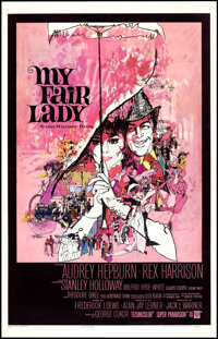 "My Fair Lady (Warner Brothers, 1964). One Sheet (27"" X 41""). Musical"