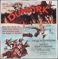 "Movie Posters:War, Dunkirk (MGM, 1958). Six Sheet (81"" X 81""). War.. ..."