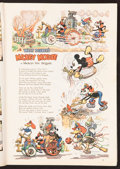 "Movie Posters:Comedy, Mickey Mouse in ""Mickey's Fire Brigade"" (Good Housekeeping, 1935). Magazine (282 Pages, 9"" X 12""). Animated.. ..."