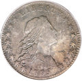 Early Half Dollars, 1795 50C 2 Leaves Fine 15 PCGS. O-110, R.4....
