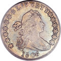 Early Half Dollars, 1806/5 50C XF45 PCGS. O-103, R.2....