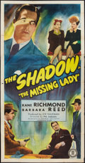 """Movie Posters:Crime, The Missing Lady (Monogram, 1946). Three Sheet (41"""" X 81""""). Crime....."""