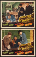 "Movie Posters:Crime, Sherlock Holmes and the Secret Weapon (Realart, R-1948). LobbyCards (2) (11"" X 14""). Crime.. ... (Total: 2 Items)"