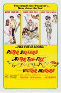 Memorabilia:Poster, After the Fox Movie Poster Illustrated by Frank Frazetta (MGM, 1966)....