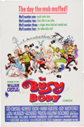 Memorabilia:Poster, The Busy Body Movie Poster Illustrated by Frank Frazetta(Paramount, 1967)....