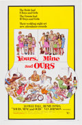 Memorabilia:Poster, Yours, Mine and Ours Movie Poster Illustrated by FrankFrazetta (United Artists, 1968)....