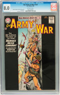 Silver Age (1956-1969):War, Our Army at War #129 (DC, 1963) CGC VF 8.0 Off-white pages....