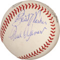 Autographs:Baseballs, 1950's Paul Waner Single Signed Baseball....