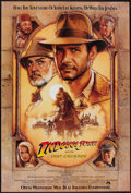 "Movie Posters:Action, Indiana Jones and the Last Crusade (Paramount, 1989). One Sheet(27"" X 40"") SS Advance, Style B. Action.. ..."