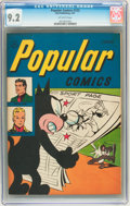 Golden Age (1938-1955):Humor, Popular Comics #132 (Dell, 1947) CGC NM- 9.2 Off-white pages....