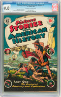 Golden Age (1938-1955):Non-Fiction, Picture Stories From American History #1 (EC, 1946) CGC VF/NM 9.0Off-white to white pages....