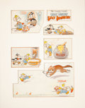 Animation Art:Production Drawing, Tom Wood The Country Cousin Illustration Original Art (Good Housekeeping, 1936)....