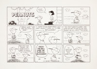 Charles Schulz Peanuts Sunday Comic Strip Original Art dated 6-14-98 (Universal Feature Syndicate, 1998)