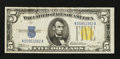 Small Size:World War II Emergency Notes, Fr. 2307 $5 1934A North Africa Silver Certificate. Very Fine-Extremely Fine.. ...