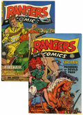 Golden Age (1938-1955):War, Rangers Comics #53 and 54 Group (Fiction House, 1950) Condition:FN/VF.... (Total: 2 Comic Books)