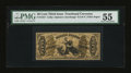 Fractional Currency:Third Issue, Fr. 1357 50¢ Third Issue Justice. PMG About Uncirculated 55.. ...