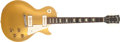 Musical Instruments:Electric Guitars, 1956 Gibson Les Paul Std All Gold Electric Guitar, #63899....