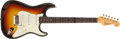Musical Instruments:Electric Guitars, 1964 Fender Stratocaster Sunburst Guitar, #L46453....