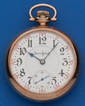 Timepieces:Pocket (post 1900), Illinois 24 Ruby Jewel 18 Size Bunn Special. ...