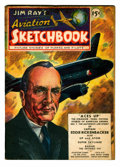 Golden Age (1938-1955):Non-Fiction, Jim Ray's Aviation Sketchbook #1 (Vital Publications, 1946)Condition: VG/FN....