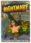 Golden Age (1938-1955):Horror, Nightmare #1 (Ziff-Davis, 1952) Condition: VG....