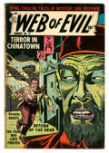 Golden Age (1938-1955):Horror, Web of Evil #17 (Quality, 1954) Condition: VG....