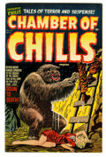 Golden Age (1938-1955):Horror, Chamber of Chills #14 (Harvey, 1952) Condition: VF....