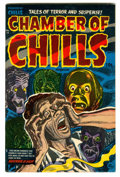 Golden Age (1938-1955):Horror, Chamber of Chills #15 (Harvey, 1953) Condition: VF....