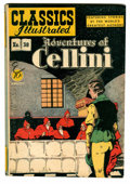 Golden Age (1938-1955):Classics Illustrated, Classics Illustrated #38 Adventures of Cellini - Original Edition (Gilberton, 1947) Condition: FN+....