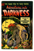 Golden Age (1938-1955):Horror, Adventures Into Darkness #7 (Standard, 1952) Condition: FN-....