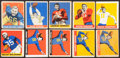 Football Cards:Sets, 1948 and 1949 Leaf Football Collection (74). ...