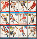 Hockey Cards:Sets, 1954/55 Topps Hockey Collection (40 different). ...