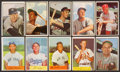 Baseball Cards:Sets, 1953 Bowman Color and 1954 Bowman Baseball Sets Pair (2). ...