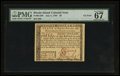 Colonial Notes:Rhode Island, Rhode Island July 2, 1780 $8 PMG Superb Gem Unc 67 EPQ.. ...
