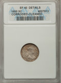 Early Half Dimes: , 1800 H10C --Cleaned, Corroded--ANACS. XF40 Details. NGC Census:(9/98). PCGS Population (14/113). Mintage: 40,000. Numismedi...