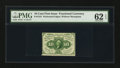 Fractional Currency:First Issue, Fr. 1241 10¢ First Issue PMG Uncirculated 62 EPQ.. ...