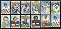 Football Cards:Lots, 1973 - 1977 Topps Football Collection (). ...