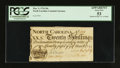 Colonial Notes:North Carolina, North Carolina March 9, 1754 20s PCGS Apparent About New 53.. ...