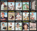 Baseball Cards:Sets, 1971 Topps Baseball Mid To High Grade Partial Set (602/752) With 100 High Numbers....