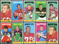 Football Cards:Sets, 1965 Topps Football Collection (160). ...