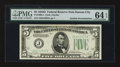 Error Notes:Double Denominations, Fr. 1960-J $5/$10 1934D Federal Reserve Note. PMG Choice Uncirculated 64 EPQ.. ...