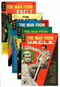 Silver Age (1956-1969):Adventure, Man from U.N.C.L.E. Group (Gold Key, 1965-69).... (Total: 5 Comic Books)