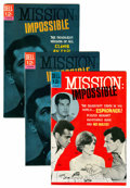 Silver Age (1956-1969):Adventure, Mission: Impossible #1 and 2 Group (Dell, 1967).... (Total: 3 Comic Books)