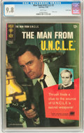 Silver Age (1956-1969):Adventure, Man from U.N.C.L.E. #3 Pacific Coast pedigree (Gold Key, 1965) CGC NM/MT 9.8 White pages....