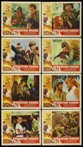 """Movie Posters:War, Operation Dames (American International, 1959). Lobby Card Set of 8(11"""" X 14""""). War. ... (Total: 8 Items)"""