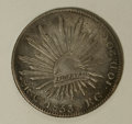 Mexico, Mexico: Republic Cap and Rays 8 Reales 1853 Ca-RG,...