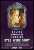 "Movie Posters:Drama, Eyes Wide Shut (Warner Brothers, 1999). DS. One Sheet (27"" X 41""). Drama. ..."