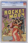 Golden Age (1938-1955):Science Fiction, Rocket to the Moon #nn (Avon, 1951) CGC VG+ 4.5 Cream to off-whitepages....