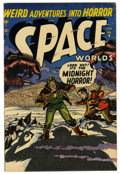 Golden Age (1938-1955):Science Fiction, Space Worlds #6 (Atlas, 1952) Condition: FN/VF....