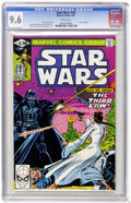Modern Age (1980-Present):Science Fiction, Star Wars #48 (Marvel, 1981) CGC NM+ 9.6 White pages. ...
